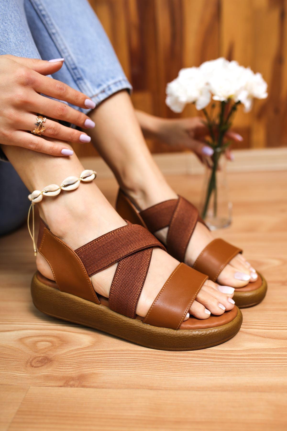 Mimi Taba Kadın Sandalet